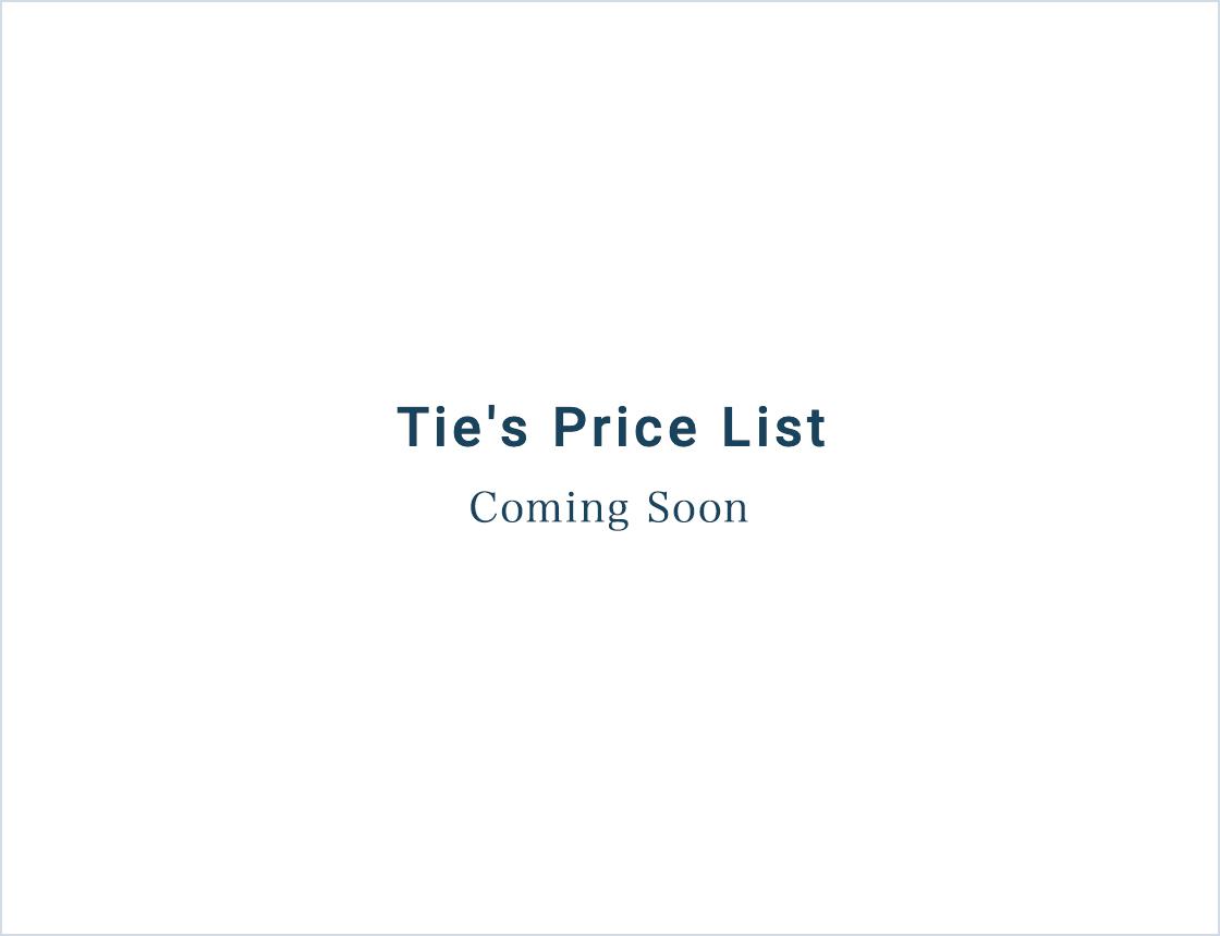 (PC)ネクタイの値段表が入ります。